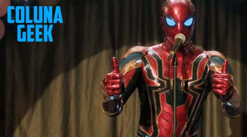 O novo Homem Aranha e sua Irresponsabilidade
