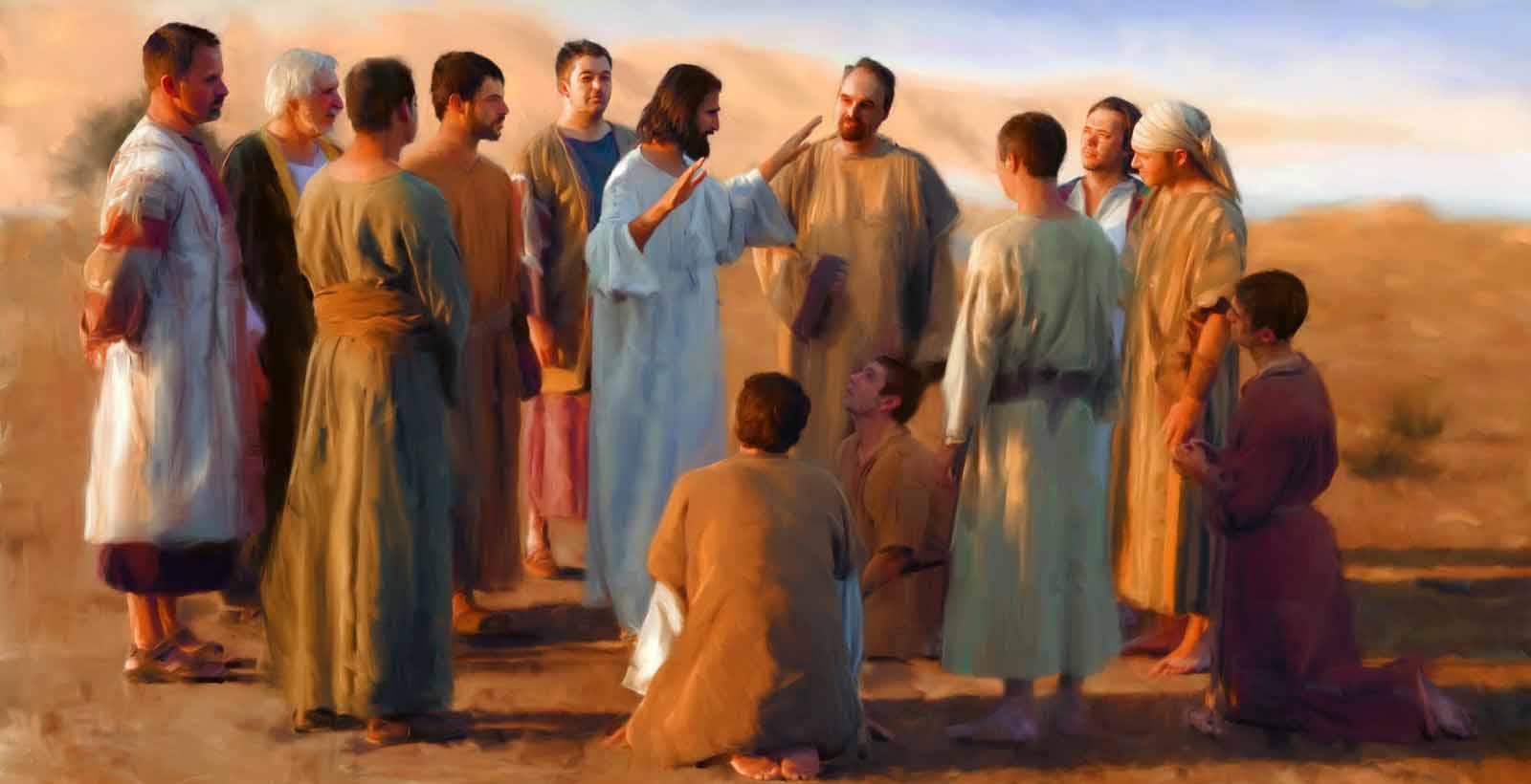 Resultado de imagem para jesus e boa nova