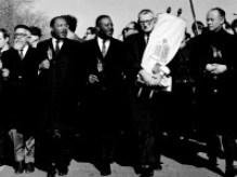 King e judeus americanos juntos por direitos civis