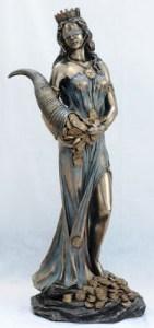 A deusa romana Fortuna