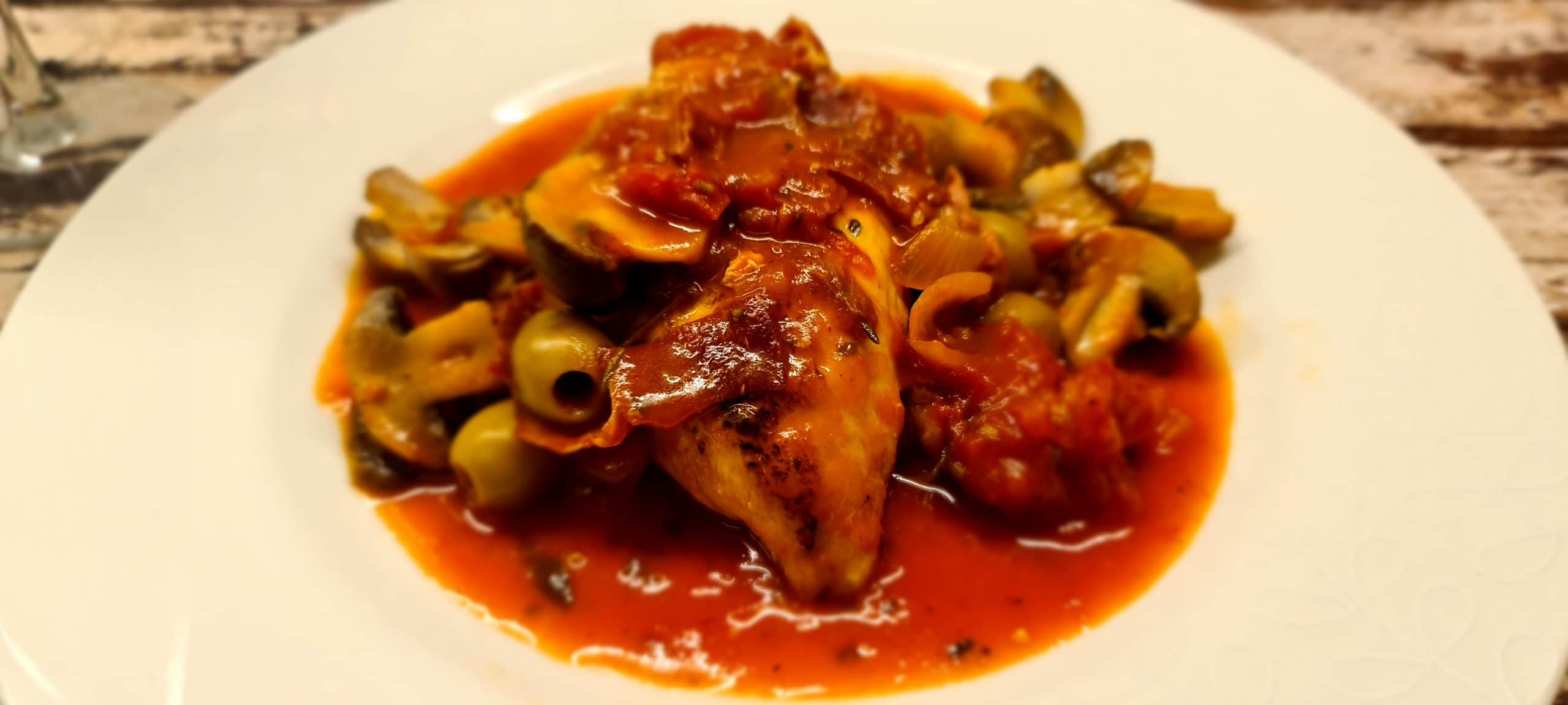 You are currently viewing Healthy Chicken Cacciatore