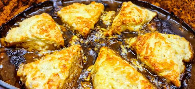 Read more about the article Savoury Mince Cobbler