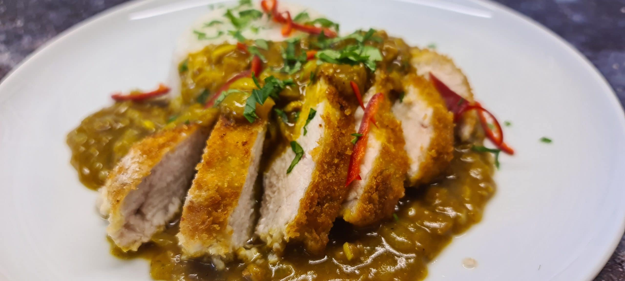 You are currently viewing Chicken Katsu Curry