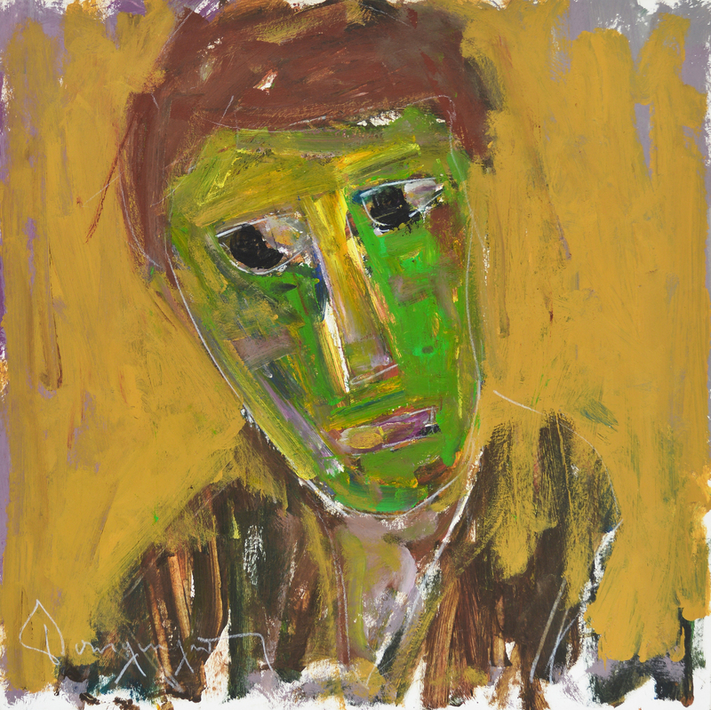 Face in Green, 1980