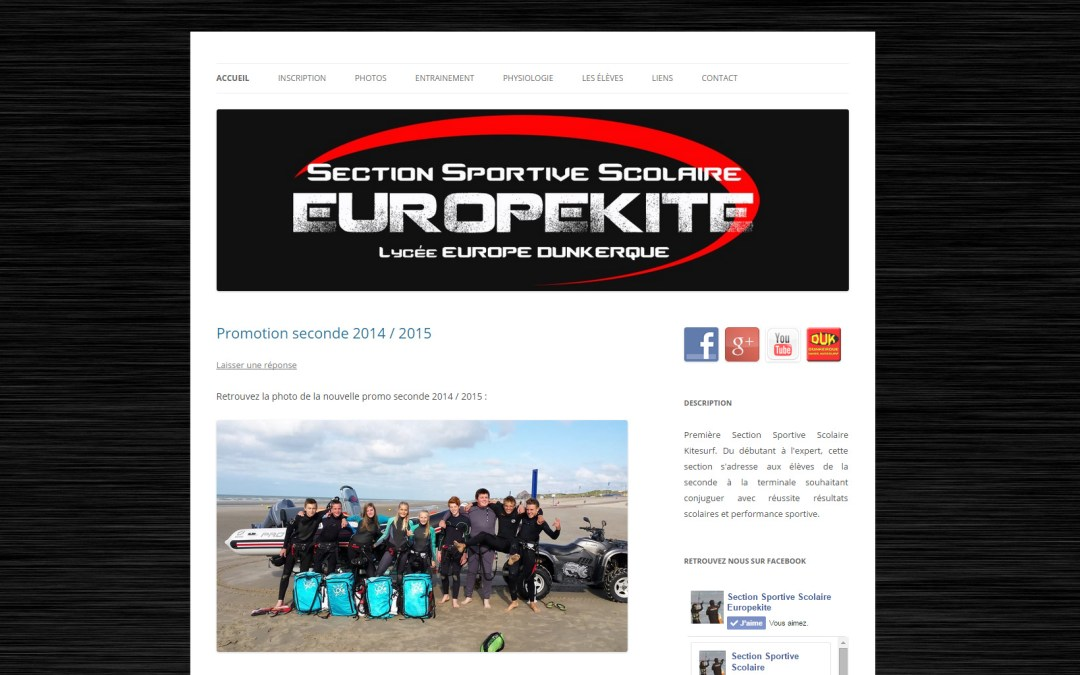 Site EuropeKite