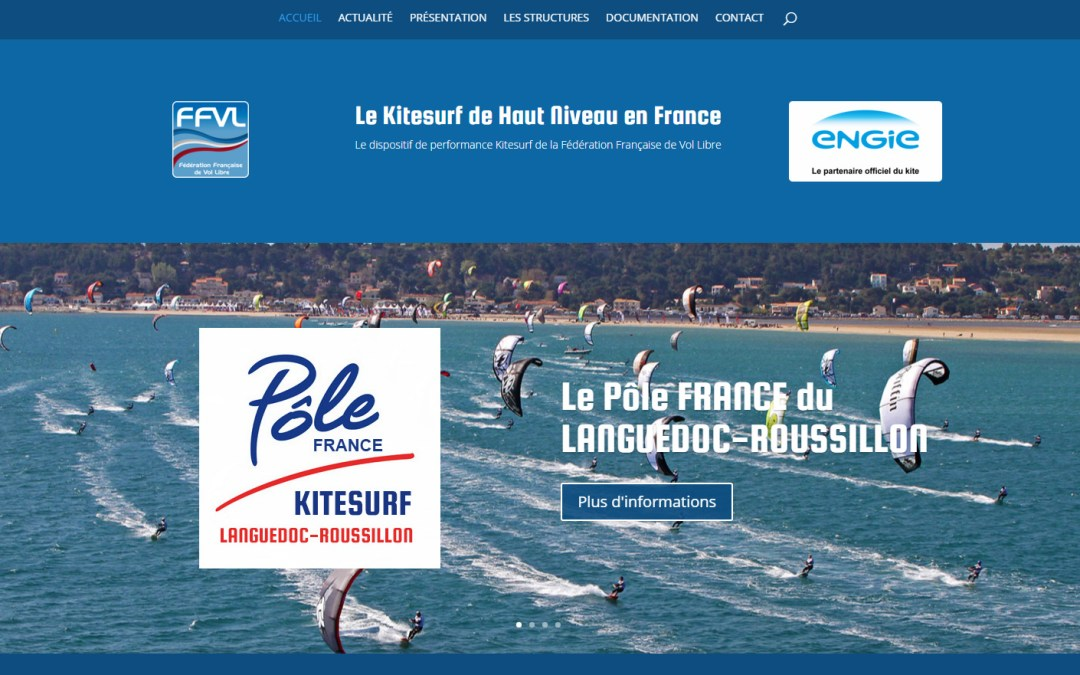 Site internet du Kitesurf de Haut Niveau