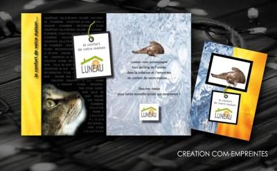 création carte vœux pour entreprise - By com-empreintes