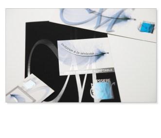 création plaquette / carte de visite / cabinet comptable