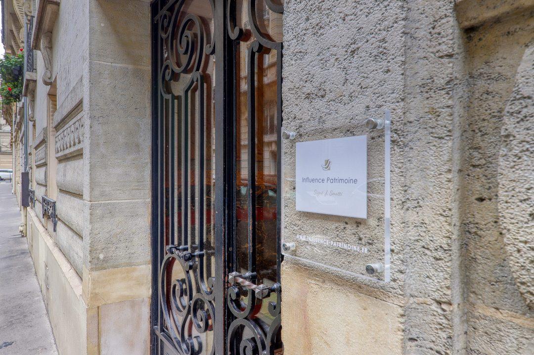 Création signalétique pour professions libérales - Cabinet gestion patrimoniale - By Com'Empreintes
