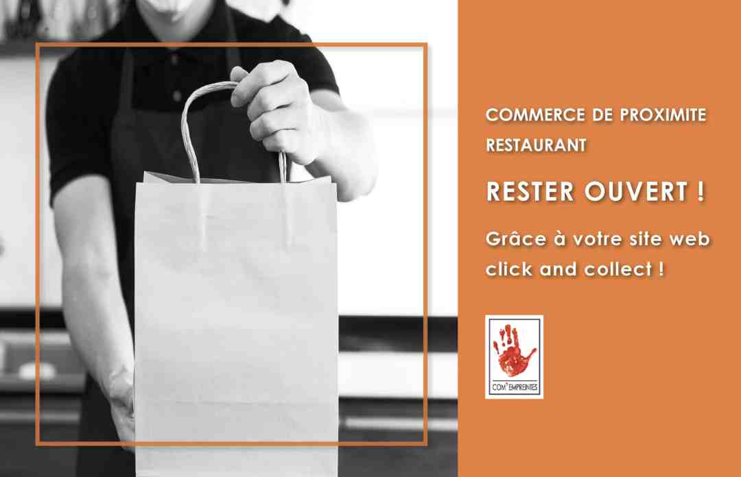 création e-commerce click and collect par com' empreintes