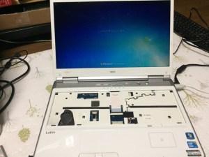 LL750_Aキーボード交換
