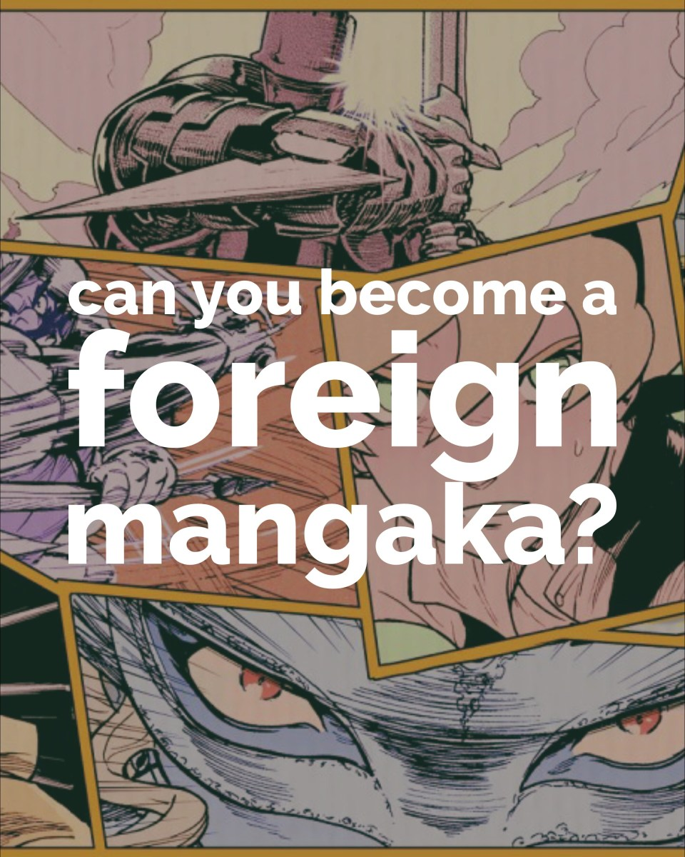 Can you become a foreign mangaka?