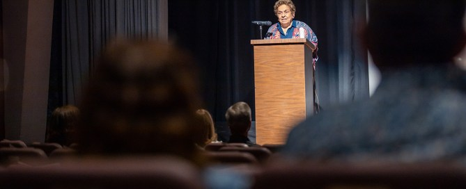 Donna Shalala at Celebrating Women who Communicate. Photo by TJ Lievonen.