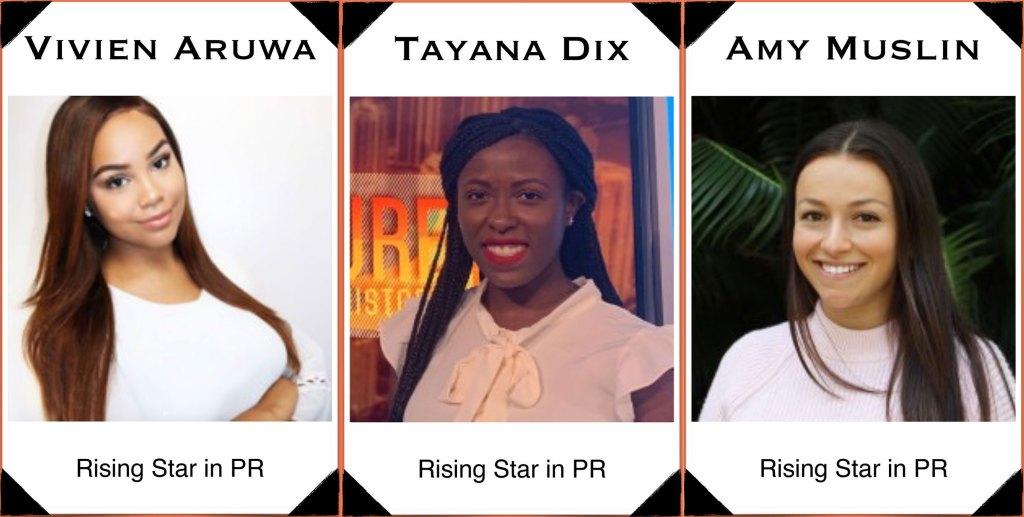 Rising Stars in Public Relations