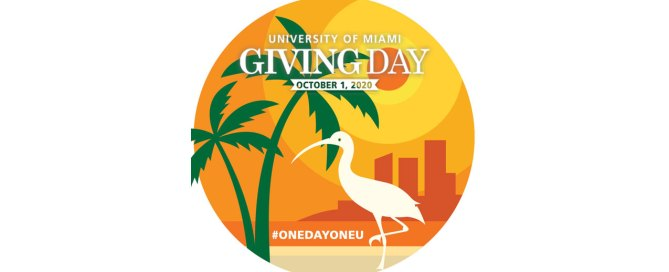 On October 1, the University of Miami will celebrate its second annual #OneDayOneU Giving Day.