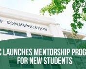 The Dean's Student Circle Launches Mentorship Program.
