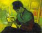 «La lectora de novela» (1888), de Vincent van Gogh.
