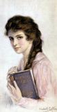 """«Mujer leyendo """"Romeo y Julieta""""» (1878), de Haskell Coffin."""