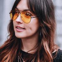Moodboard: óculos de sol amarelos | yellow sunglasses (eng/port)