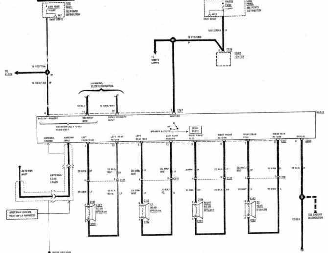 1987 jeep comanche radio wiring diagram  1995 ford e350