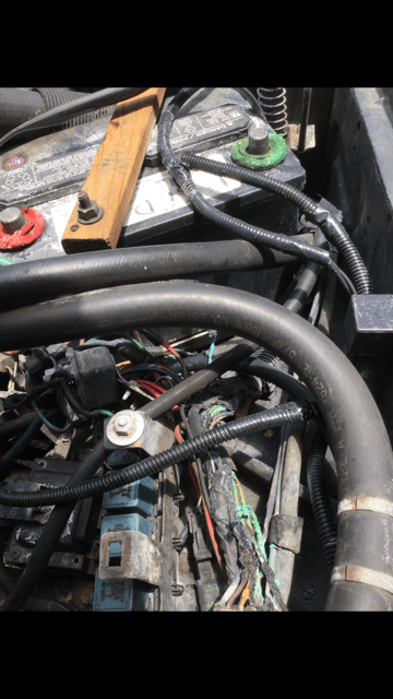 melted wiring harness  mj tech modification and repairs