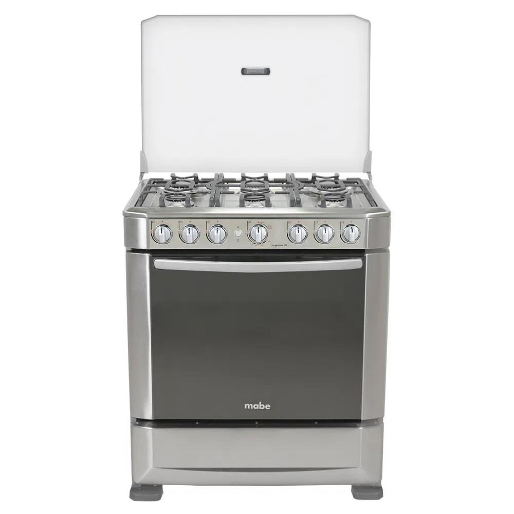 Cocina a Gas Mabe INGENIOUS7620EX1 6 Hornillas  Color