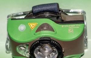 LEDLenser MH8 ON/OFF, Zusatz LED, Ladekontrollleuchte
