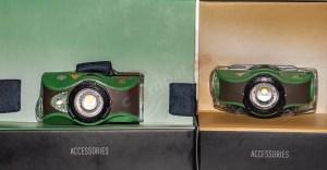 LEDLenser MH8 (links) neben MH4 (rechts)