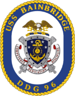US Navy USS Bainbridge (DDG 96) Badge
