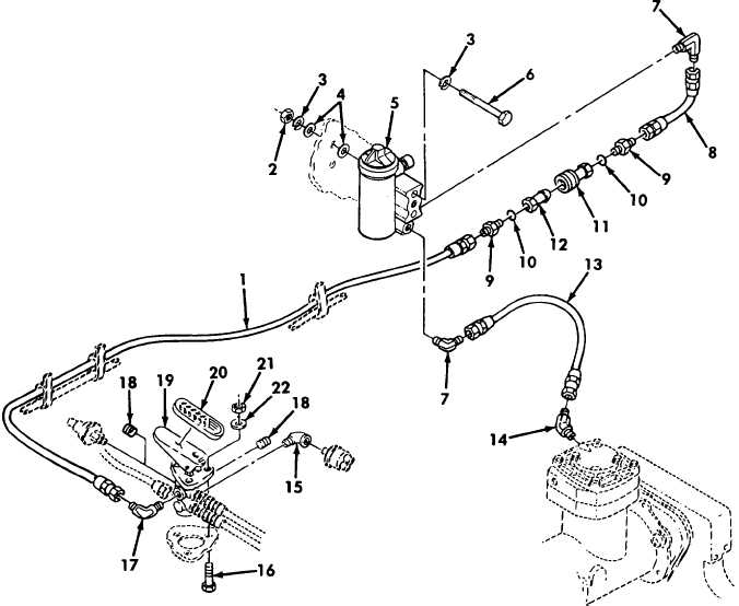 Figure 3. Service Brake Valve, Air Compressor Governor