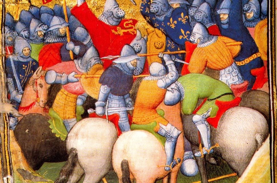 La Bataille de Crécy 1346 et l'utilisation des arcs