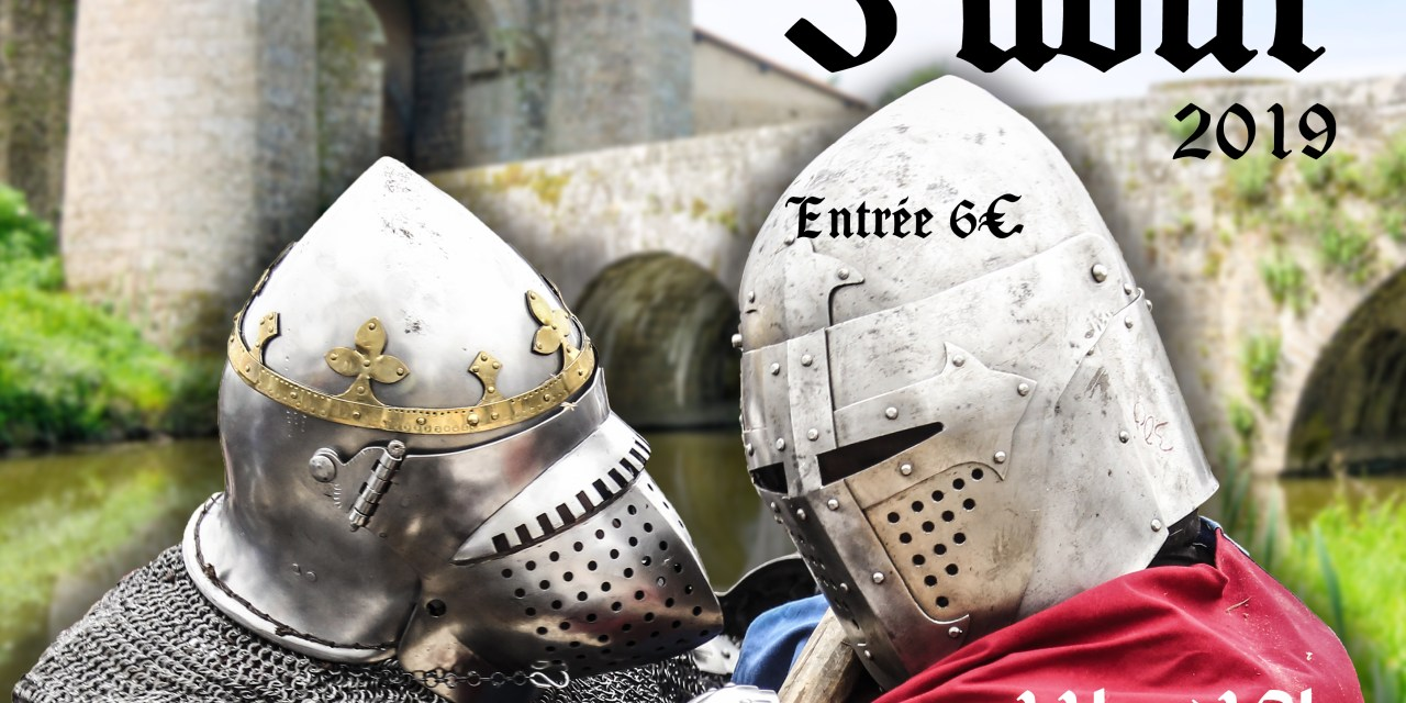 Tournoi de Parthenay 03/08/2019 : inscriptions combattants