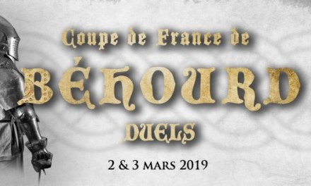 Coupe de France de béhourd en duel : inscriptions combattants