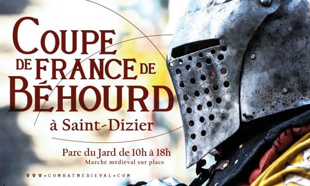Coupe de France de Béhourd en équipe : inscriptions combattants