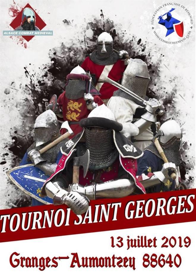Tournoi Saint Georges à Granges-Aumontzey