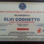 Diploma Istruttore 2° Livello Krav Maga