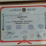 Diploma Karate 7