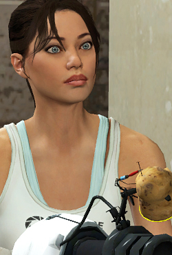 Chell  Combine OverWiki the original HalfLife wiki and