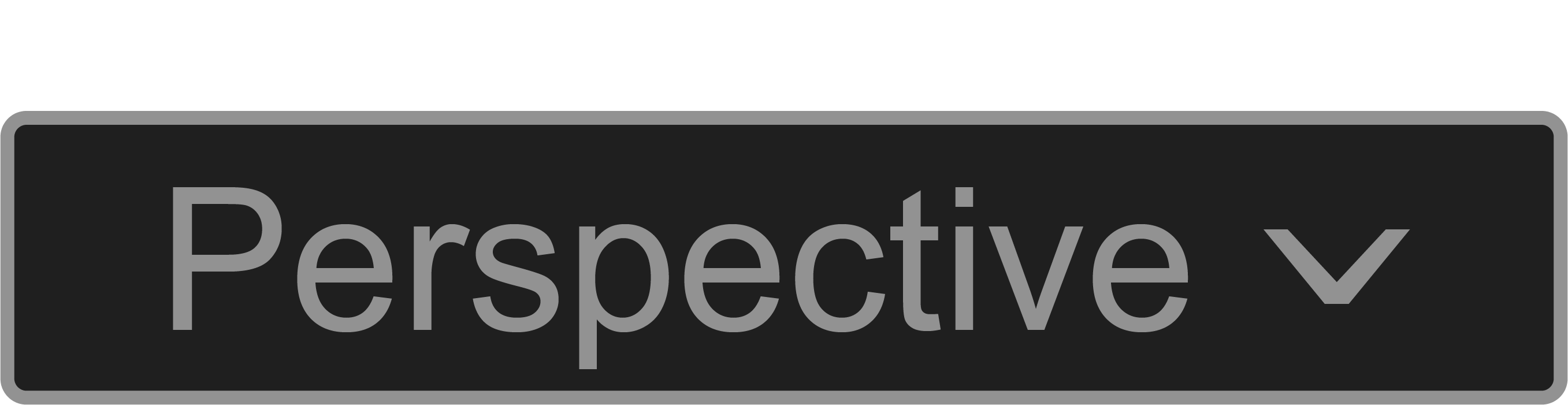 Knop voor de modus perspective bij het stabiliseren van videobeelden met BlackMagic Design DaVinci Resolve.