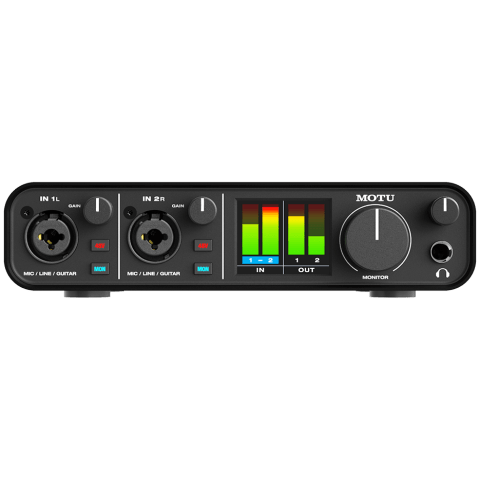 Productfoto Motu M2 audio-interface review.
