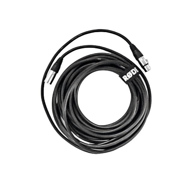 XLR-kabel van 6 meter die bij de Rode NT1-A microfoon geleverd wordt.