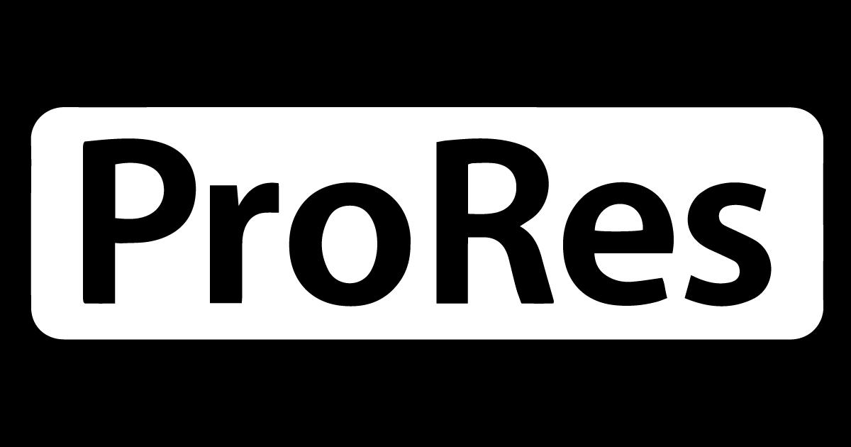 Logo Apple ProRes.