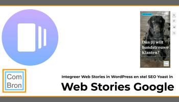 Integreer Web Stories van Google in je website met de plugin voor WordPress en stel direct SEO Yoast in voor Web Stories.