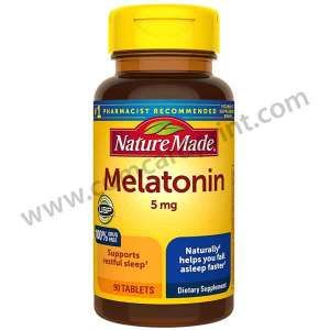 Nature Made Melatonin 5mg 90 Tablets