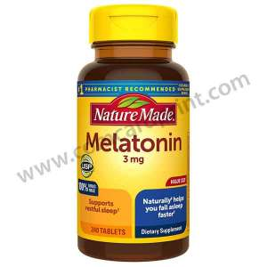 Nature Made Melatonin 3mg 240 Tablets