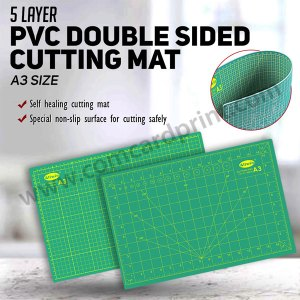 5 Layer PVC Double Sided Cutting Mat | A3 Size