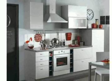Cuisine Petite Surface En L | Minimalist Apartment With A Strong ...