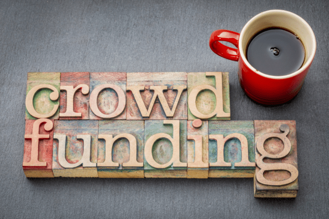 Reward based crowdfundng