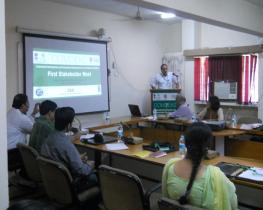 Dr. VK Bahuguna, Director-General, ICFRE giving Special Address