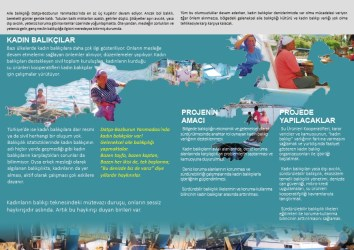 Educational brochures were produced and disseminated as part of the efforts for promoting seascape resilience through sustainable fishing practices.